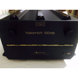 Caja De Discos Nakamichi 100mb Dragon (music Bank)