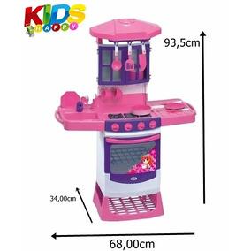 Fogãozinho Panelinha Cozinha Infantil Mágica 8000l Magictoys
