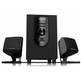 Sistema De Sonido Microlab M 108u 2.1 Ideal Para Tu Pc