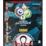 Album Vazio Copa 2006 Alemanha Panini Brasil Original
