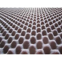 Espuma Perfilada Cono De Huevo Densidad 17 Placa De 2x1.20m