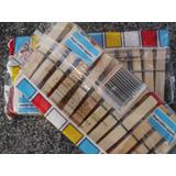 Docena Broches Madera P/ Ropa (madera O Plastico)
