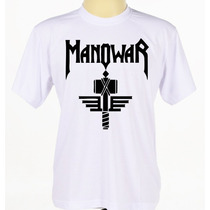 Camiseta Camisa Banda Rock Heavy Metal Manowar