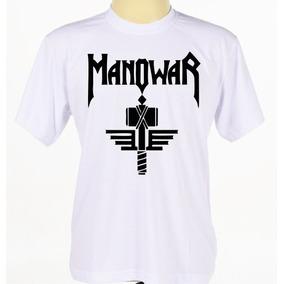 Camiseta Camisa Banda Rock Heavy Metal Manowar
