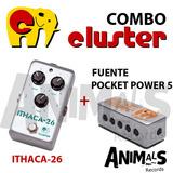 Combo Cluster Ithaca-26 + Fuente Pocket Power 5 Nuevo