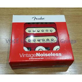 Captador Fender Vintage Noiseless+potenciômetros+1 Cabo