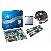 Kit Placa Mãe Intel H61 + Core I5 3470 3.6 Ghz + 8gb Ddr3