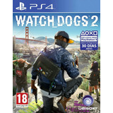 Ps4 Watchdogs 2 Nuevo Sellado