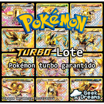 Lote Carta Pokémon + Turbo Break + Holográfica + Brinde