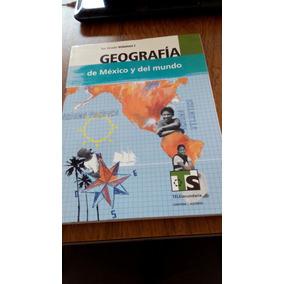 Geografía De México Y Del Mundo 1er Grado Volumen I