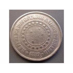 Moeda De 200 Reis De 1889 Rara - Bom Estado Conservada