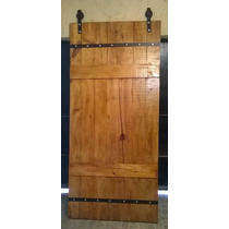 Porta De Correr Rústica ( Trillho E Roldanas)
