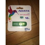 Usb Adata De 16 Gb (c008) Verdes. En Blister Nuevos!
