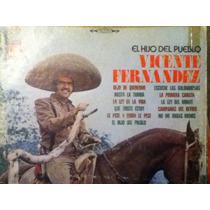 Disco Acetato: Vicente Fernandez