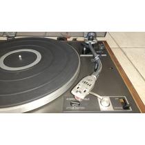 Toca Disco Pioneer Pl-15r Completo Com Capsula E Agulha