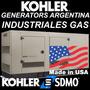 Generador Electrico Kohler Gas 100kva Sdmo T/ Generac Instal
