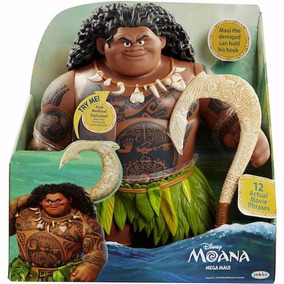 Boneco Maui Tatuagens Mágicas Moana Original Sunny