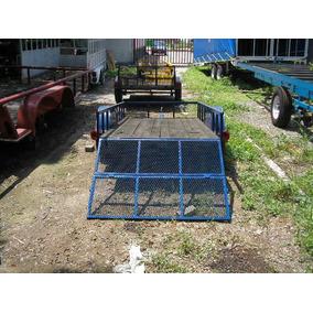 Remolque Cama Baja Economico Cuatrimotos Camionetas Ver 18