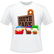 Camiseta South Park Kyle Stan Eric Kenny Camisa