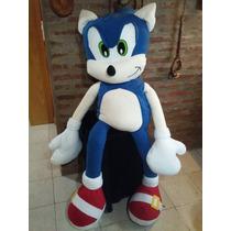 Muñeco Peluche Sonic De 1.6 Metros Gigante