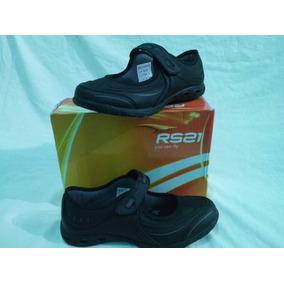 Zapatos Colegiales De Niña Rs21 Originales