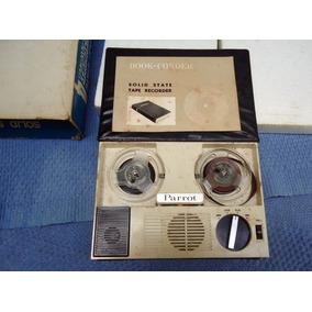 Gravador De Rolo Tape Recorder Solid State Espião Book Type