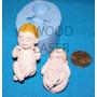 Molde De Silicona,bebe Modelo 56, Porcelana Fria