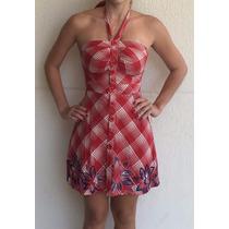 Vestido Colcci Modelo Frente Unica Verão Leve Tam 36 Novo