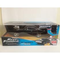 Dodge Charger R/t Dom´s Rapido Y Furioso Rc Control Remoto