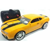Carrinho Controle Camaro Amarelo 27cm Comando Total