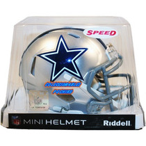 Nfl Mini Casco Speed Riddell Dallas Cowboys Vaqueros Helmet