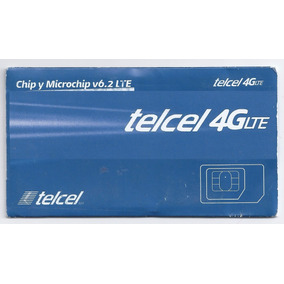 Chip Telcel 4g Region 1 50 Tiempo Aire