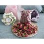 ¡nueva Miniatura Natural Seco Rojo/rosa Pequeña Rosa Brotes