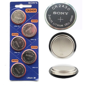 Kit 20 Sony Cr2032 + 5 + Cr2477 + 5 Cr2450 + 5 Cr2430 + Mo