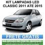 Kit Lampadas Led Corsa Classic - Farolete Ré Teto - Anx Leds