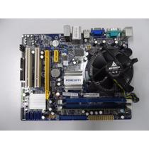 Kit Placa Mãe 775 Ddr3 Processador E8400 Com Cooler 2gb