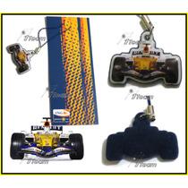 Colguije Limpiador Para Celular O Llavero Auto F1 Renault