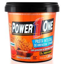 Pasta De Amendoim Com Granulado Crocante1kg - Power 1 One