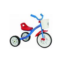 Triciclo Kids Varon - Nena Nacional Ruedas De Chapa