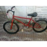 Bicicleta Bmx Bicicross Rodado 20 En Wilde
