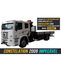 Caminhão Constelation Munck Palfinger - Vw 13180 Km - 53651