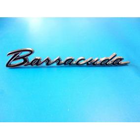 Emblema Plymouth Barracuda 1964 - 1966 Lateral