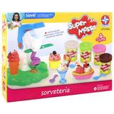 Brinquedo Infantil Massinha Estrela Super Massa Sorveteria