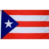 Bandera De Puerto Rico 90 *150 Cm