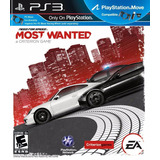 Need For Speed Most Wanted 2012 Ps3 Original Nuevo