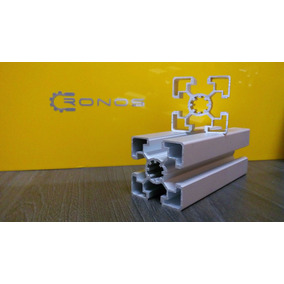 Perfil De Aluminio Estructural Ranurado Industrial 45x45