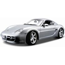 Maisto Porsche Cayman S 1/18 Plata Metal Diecast/ No Burago