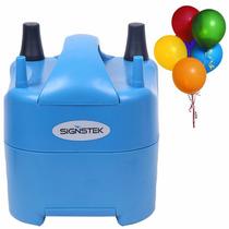 Bomba Para Inflar Globos Portable Eléctrica Signstek Azul