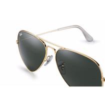 Óculos Rayban Aviador Lentes Em Cristal Vários Modelos!!!