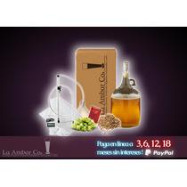 Mini Kit Para Elaborar Cerveza Artesanal